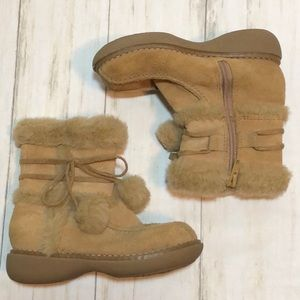 Cherokee suede tan boots